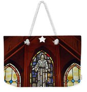Stained Glass Saviour Weekender Tote Bag
