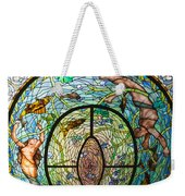 Stained Glass Skylight In Fordyce Bathhouse Weekender Tote Bag
