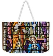 Stained Glass Weekender Tote Bag by Susan Candelario
