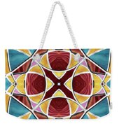 Stained Glass Window 5 Weekender Tote Bag