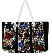 Stained Glass Window I Weekender Tote Bag