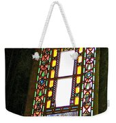 Stained Glass Window In Saint Sophia's In Istanbul-turkey  Weekender Tote Bag