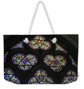 Stained Glass Window Weekender Tote Bag