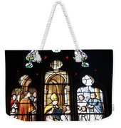 Stained Glass Window V Weekender Tote Bag