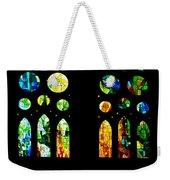 Stained Glass Windows - Sagrada Familia Barcelona Spain Weekender Tote Bag
