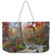 Staircase To Fall Weekender Tote Bag