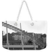 Stairs In The Sky In Black And White Weekender Tote Bag