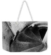 Stairs Leading Downward Into The Catacombs Of Paris France Weekender Tote Bag