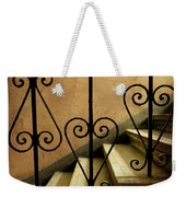 Stairs With Ornamented Handrail Weekender Tote Bag