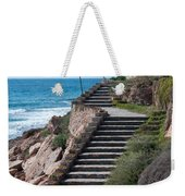 Stairway And Agave On Top. Weekender Tote Bag