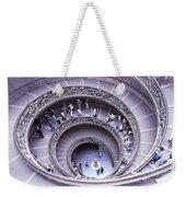 Stairway In Vatican Museum Weekender Tote Bag