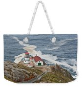Stairway Leading To Point Reyes Lighthouse Weekender Tote Bag