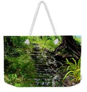 Stairway Through The Forest Weekender Tote Bag