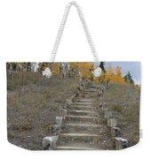 Stairway To Autumn Weekender Tote Bag