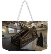 Stairwell Chicago Cultural Center Weekender Tote Bag