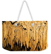Stalactite Formations In Florida Weekender Tote Bag