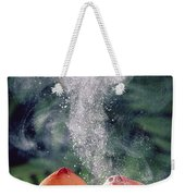 Stalked Puffball-in-aspic Calostoma Weekender Tote Bag