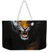 Stalking Tiger Weekender Tote Bag