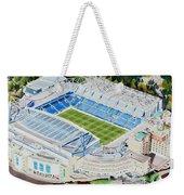 Stamford Bridge Stadia Art - Chelsea Fc Weekender Tote Bag