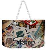 Stamp Colleting Weekender Tote Bag
