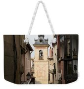 Stamped Bell Tower Weekender Tote Bag