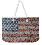 Stamps And Stripes Renegade Colony Weekender Tote Bag