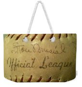 Stan Musial Autograph Baseball Weekender Tote Bag