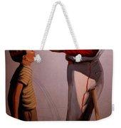 Stan Musial Mural Weekender Tote Bag