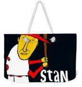 Stan Musial St Louis Cardinals Weekender Tote Bag