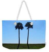 Stand By Me - Palm Tree Art By Sharon Cummings Weekender Tote Bag by Sharon Cummings