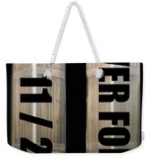 Stand Tall 911 Never Forget Spc Art Weekender Tote Bag