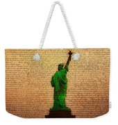 Stand Up For Freedom Weekender Tote Bag