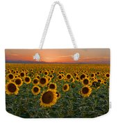 Standing At Attention Weekender Tote Bag