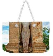 Standing Buddha At Wat Mahathat In 13th Century Sukhothai Historical Park-thailand Weekender Tote Bag