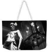 Standing Guard On Rodeo Drive Weekender Tote Bag