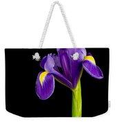 Standing Iris Weekender Tote Bag