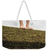 Standing On A Jetty Weekender Tote Bag