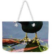 Standing On Water Weekender Tote Bag