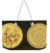 Standing Rock Sioux Tribe Code Talkers Bronze Medal Art Weekender Tote Bag