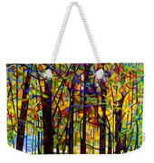 Standing Room Only Weekender Tote Bag by Mandy Budan