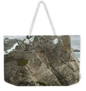 Standing Tall On The Rock Weekender Tote Bag