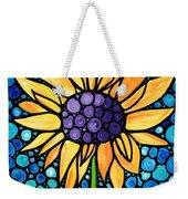 Standing Tall - Sunflower Art By Sharon Cummings Weekender Tote Bag