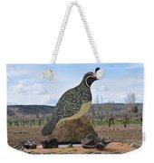 Standing Watch Of The Vineyard Weekender Tote Bag