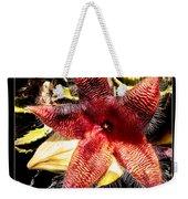 Stapelia Grandiflora Starfish Cactus Weekender Tote Bag
