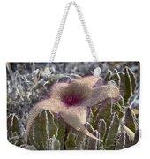 Stapelia Hirsuta Flower-oahu Hawaii Weekender Tote Bag