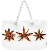 Star Anise Fruits Weekender Tote Bag by Fabrizio Troiani