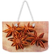 Star Anise Weekender Tote Bag