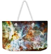 Star Birth In The Carina Nebula  Weekender Tote Bag by Jennifer Rondinelli Reilly - Fine Art Photography