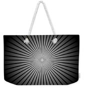 Star Black Weekender Tote Bag