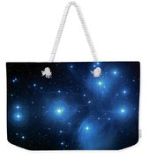 Star Cluster Pleiades Seven Sisters Weekender Tote Bag by Jennifer Rondinelli Reilly - Fine Art Photography